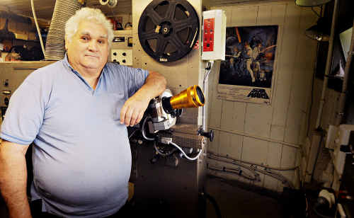 New owner of the Lower Wonga Drive-In, Greg Beer, is looking forward to opening the cinema before Christmas.