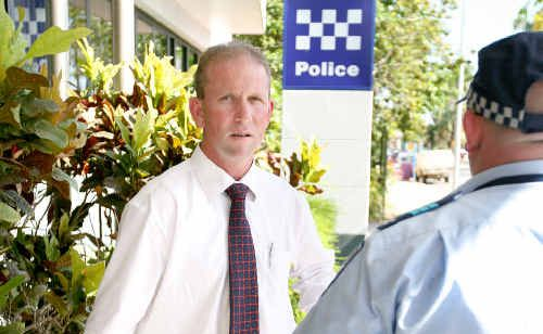Queensland Police Union president Ian Leavers.