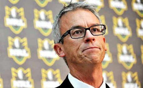 NRL chief executive David Gallop.