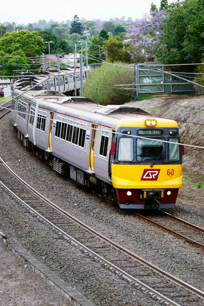 Ipswich trains are among the most reliable, according to new Queensland Rail data.
