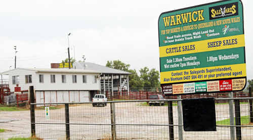 A new project could solve the problem of truck parking at the saleyards.