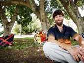 INDIGENOUS art has become a lifeline for Collingwood Park resident Robin Wakkajinda.
