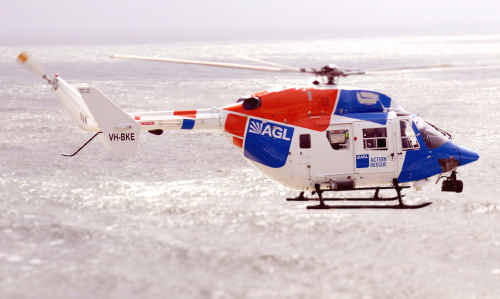 AGL Action Rescue Helicopter
