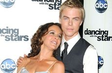Jennifer Grey and her Dancing with the Stars partner Derek Hough.