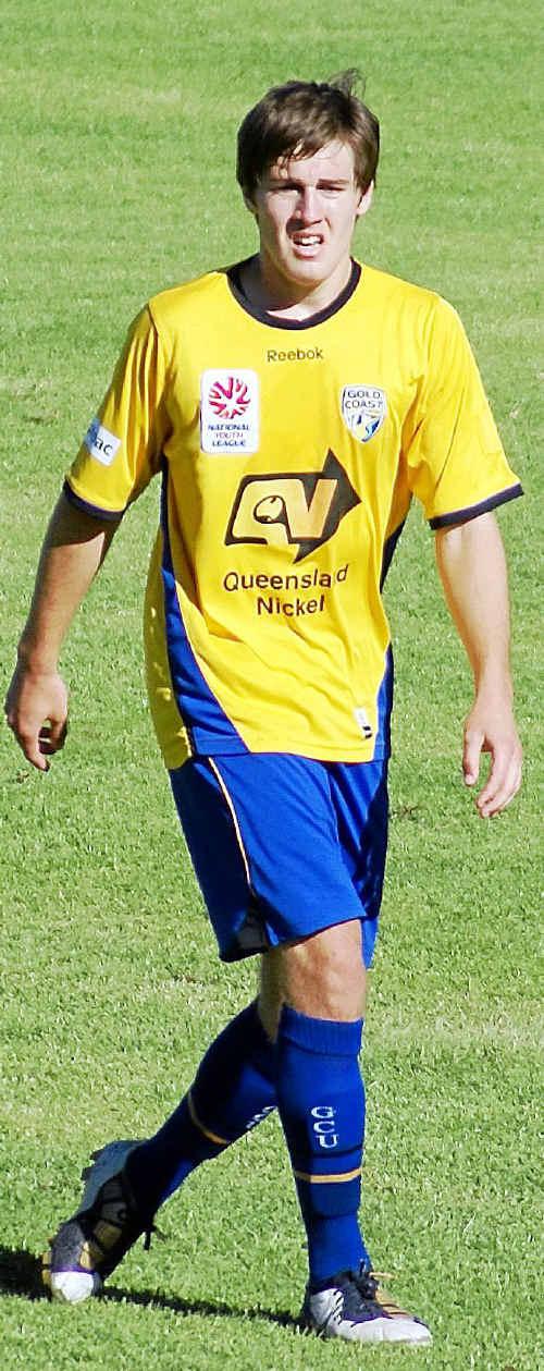 Josh Brillante made his A League debut for Gold Coast United.