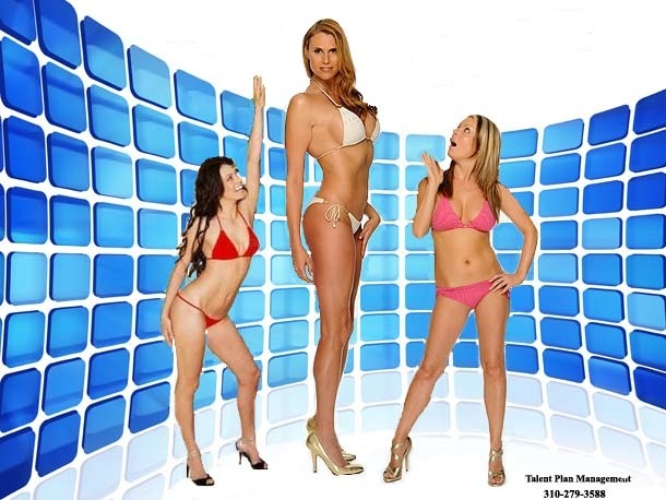 World's tallest model Amazon Eve is visiting the Sunshine Coast later this month.