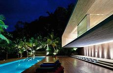 Marcio Kogan's Paraty beach house.