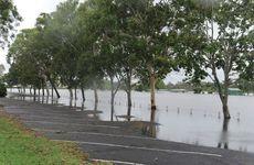 Flooding at Kendalls Flat.