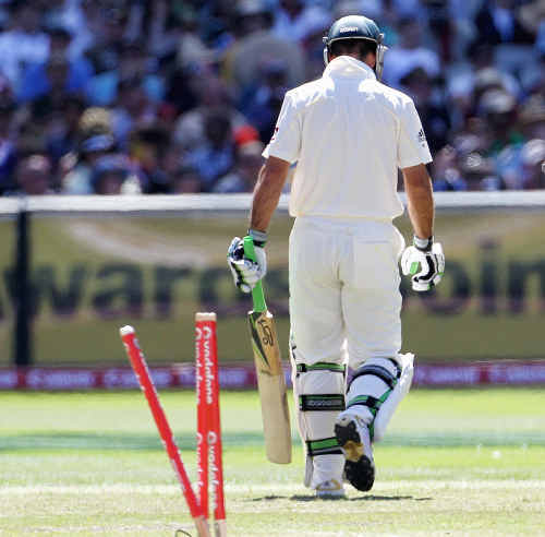 It looks like another tough summer for Ricky Ponting.