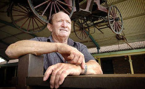 Norman McLean - father of world-renowned 'horse whisperer' Guy McLean.