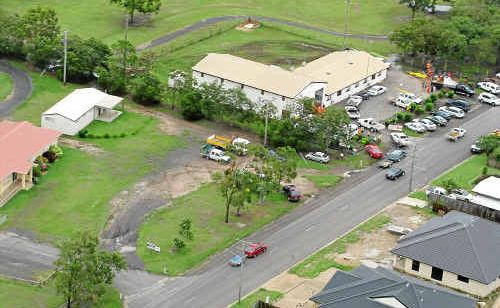 SES volunteers from the Gympie region are part of the state-wide effor tto clean up as flood waters recede in Bundaberg.
