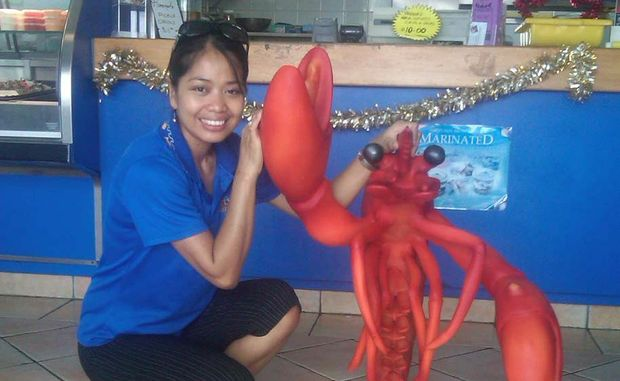 Larry the Lobster has gone missing.