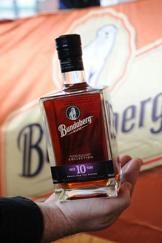 The Bundaberg Rum master distillers collection bottle.