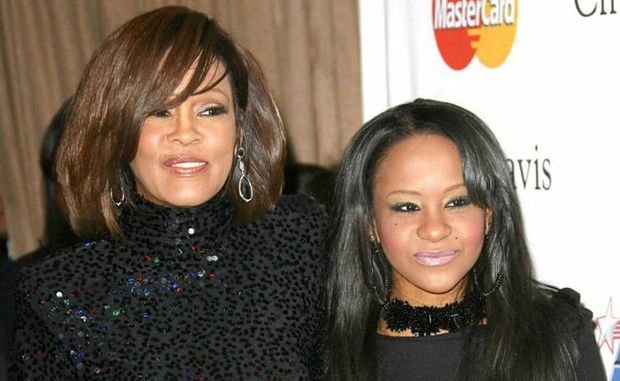 Whitney Houston and her daughter Bobbi Kristina 'Krissi' Brown.