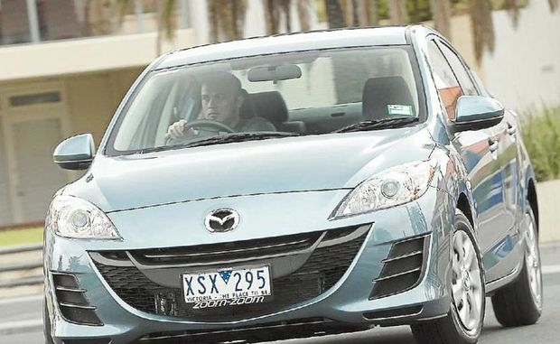 The Mazda3 (pictured) and Mazda2 have the highest percentage of sales to private buyers, at 87 per cent.