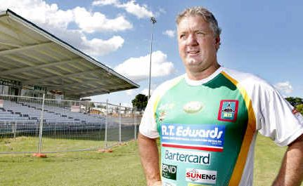 Brad Wolens in Ipswich Jets colours.