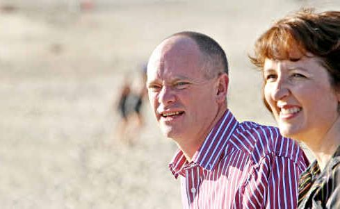 Campbell Newman and Fiona Simpson.
