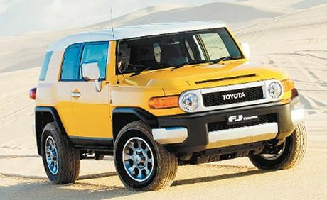 It drives like a 4WD but Toyota's FJ Cruiser is aimed at active city types.