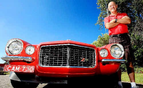 Tweed Valley Vehicle Restorers Club's Stuart Irving, above, and Ramon Alcock and Kevin Sparks will display their cars on April 30. Photo: John Gass