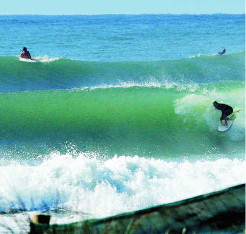 All waves lead to Cabarita this Friday.