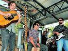 John Butler Trio goes off in Bundaberg's CBD Pavilion on Saturday.