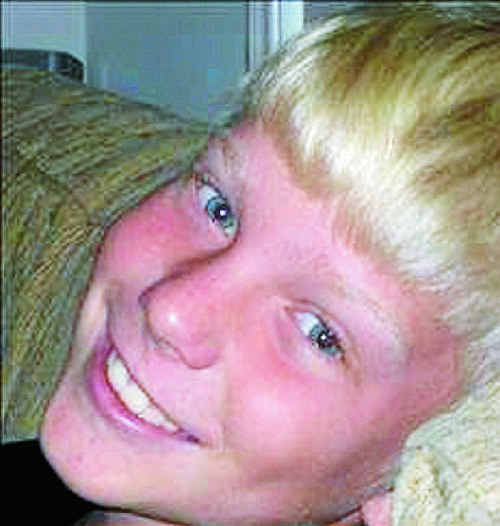 Sam Smith, who died at just 13.
