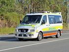 Queensland Ambulance transported a 50-year-old man to Mackay Base Hospital following a motorbike accident