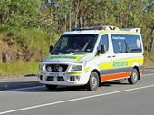 THREE people were taken to Gladstone Hospital in a stable condition after a three-vehicle crash on the Bruce Hwy near Miriam Vale on Sunday night.