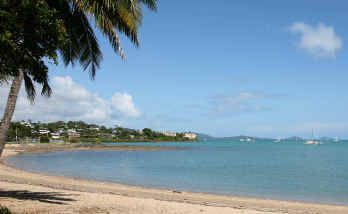 The number of international visitors to Mackay and the Whitsundays is down.