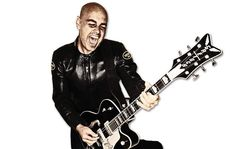 Peter Furler as he is seen on the cover of his first solo album, On Fire, which debuted at number one on the iTunes Christian music chart.