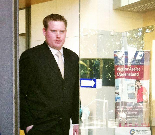 Scott Evan McCormick leaving Ipswich courthouse.