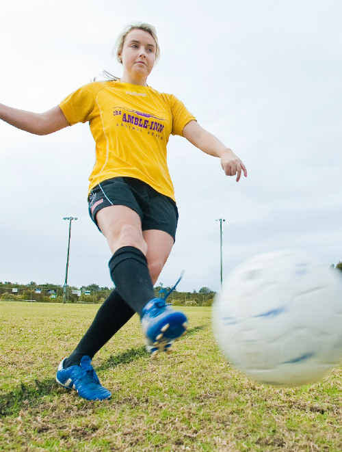 Aimee Longley is heading to the US on a scholarship.
