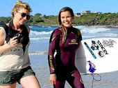 IT was lights camera action on Cabarita beach Monday with the shoot for Australia's latest surf action film Lunchbreak.