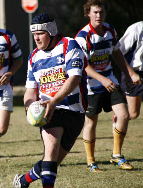 Capella Cattledogs found easy yards against Emerald Rams.