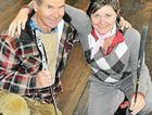 Warwick Golf Club member Eddie Kemp and Astrid Turner, of the Warwick Golf Shop, are hoping Sunday's fundraiser for a new floor is a success.