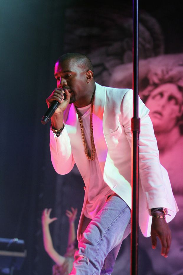 Kanye West was one of the headliners at this year's Big Day Out.