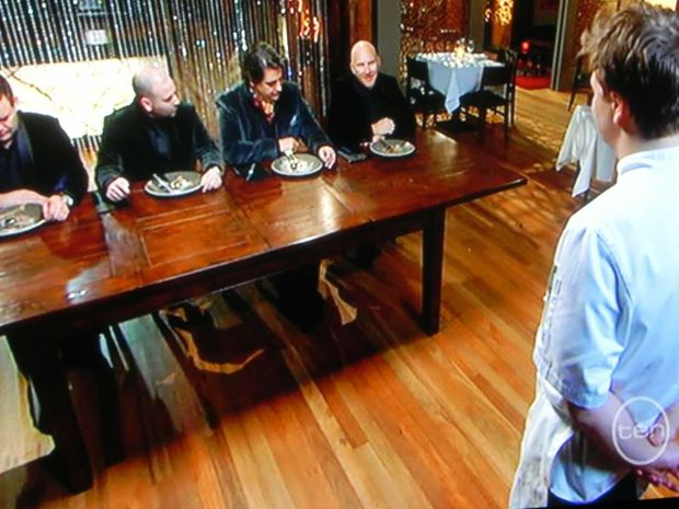 The grand final of the 2011 Masterchef final.
