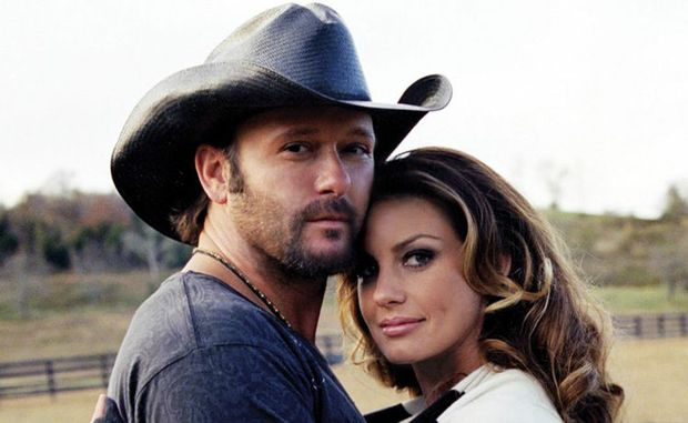 Country music stars Tim McGraw and Faith Hill will headline CMC Rocks the Hunter 2012.