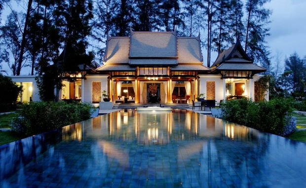 Banyan Tree Phuket's Double Pool Villas - a resort that is increasingly popular with the Chinese market given the chain's presence in China.