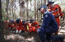 The search for the remains of Daniel Morcombe.