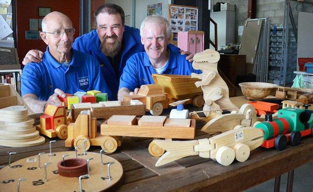 Coffs Harbour's Mens Shed is one project that has benefited from funding received from the State Government's Community Building Partnership program.