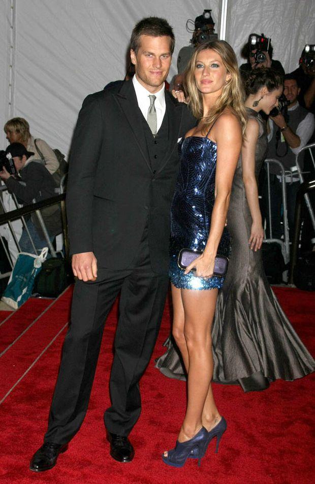 Couple Gisele Bundchen and Tom Brady.
