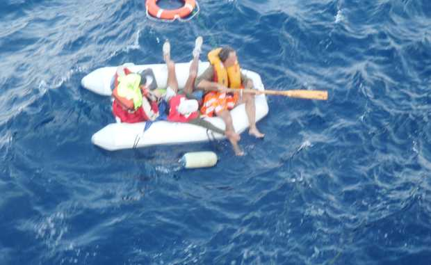 It took just 30 minutes for the Shady Lady to sink into the depths of the ocean, 290 nautical miles north of Darwin.