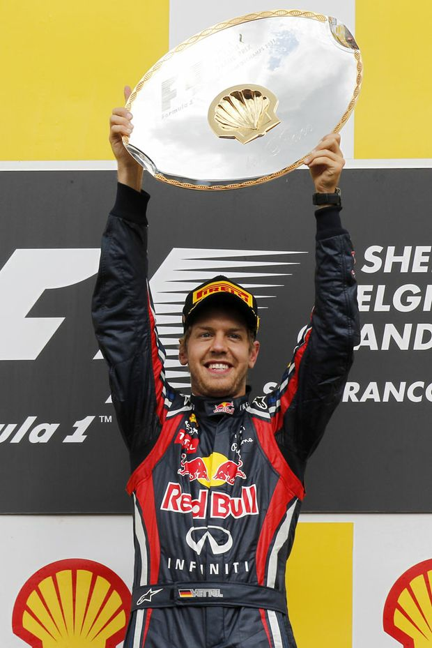 Will Sebastian Vettel win three Formula One crowns in a row?
