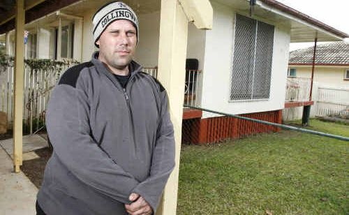 Leichhardt resident Adam Turnbull's dog (pictured, inset) was stabbed to death on Friday.
