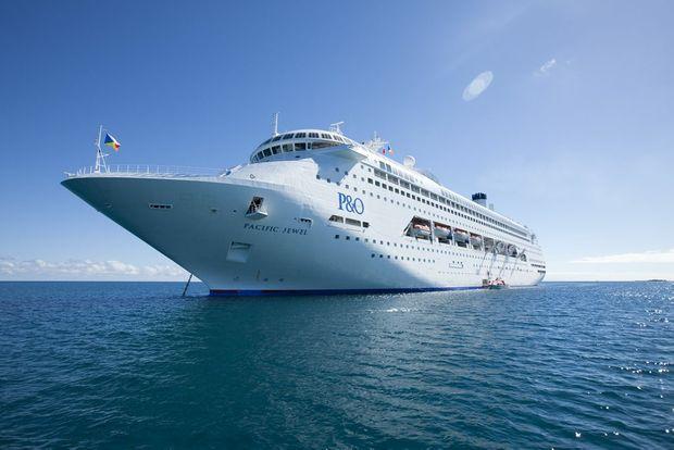 P&O; Cruises' Pacific Jewel.
