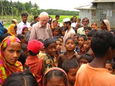 Fred Hyde in Bangladesh.