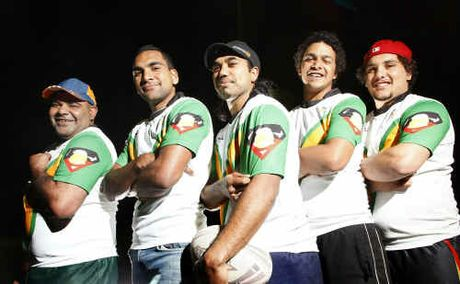 The Purga Wagtails, including Samuel Short, Samson Hookey, Wade Seden, Jack Moffatt and Lionel Foote (pictured), are set to give the inaugural Queensland Murri Rugby League Carnival a good shake at the Gold Coast from tomorrow.