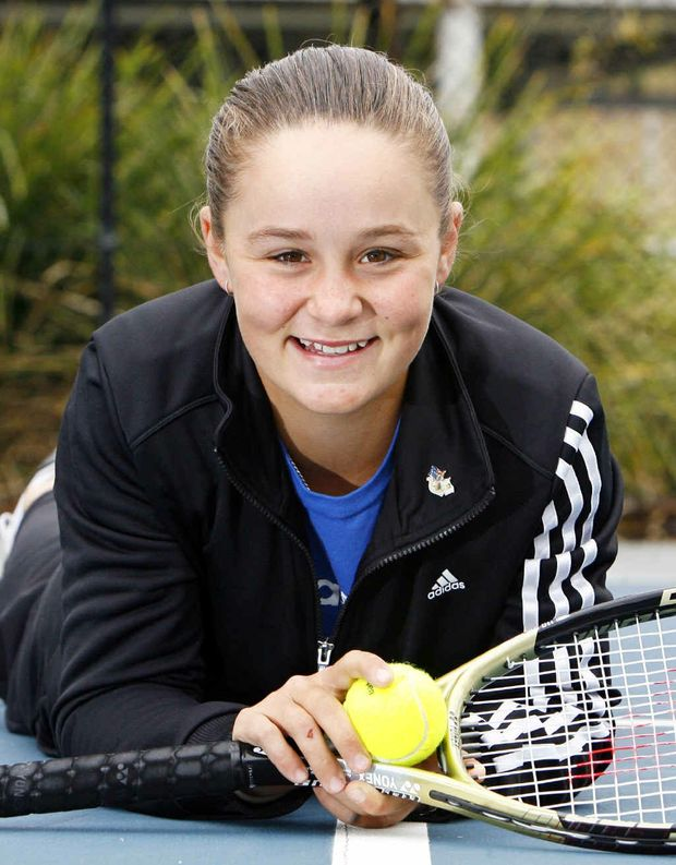 Ashleigh Barty has less time to relax these days.