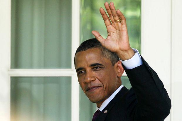 Incumbent US President Barack Obama.